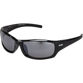 UVEX Sportstyle 211 Glasses, black/silver